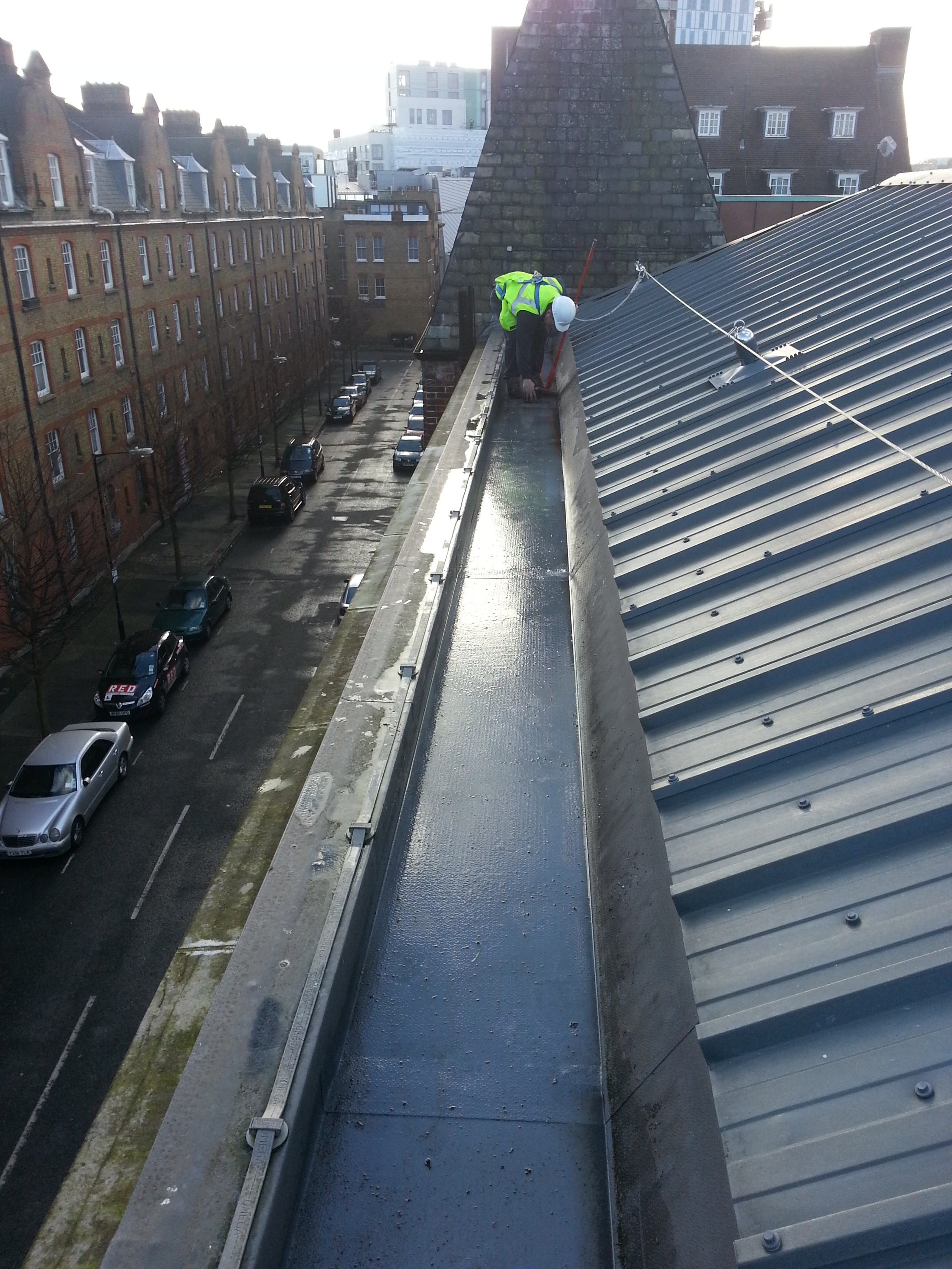 Commerical Roof Clean